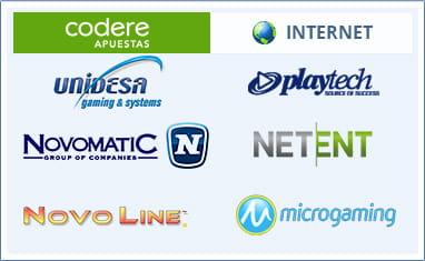 Proveedores de software de casino en línea