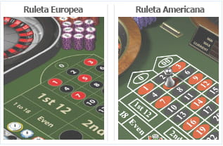 Ruleta europea flash